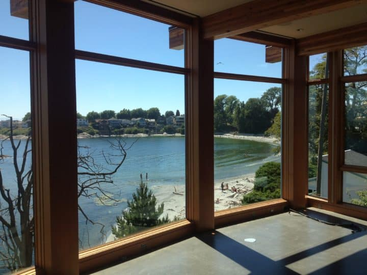 Solar Window Film on Waterfront Homes